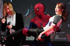 2ne1 Dara In The Arms of Spiderman