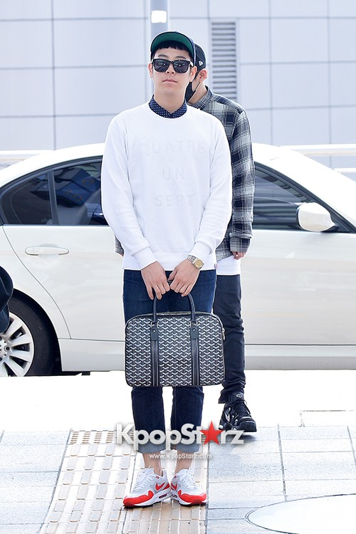BlockB at Incheon Airport heading to Russia for Fanmeeting Showcase key=>21 count29