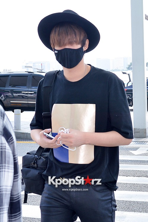BlockB at Incheon Airport heading to Russia for Fanmeeting Showcase key=>24 count29