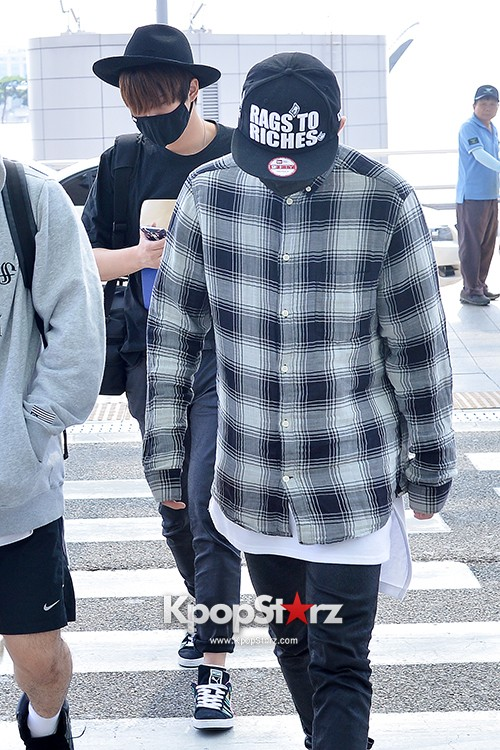 BlockB at Incheon Airport heading to Russia for Fanmeeting Showcase key=>25 count29