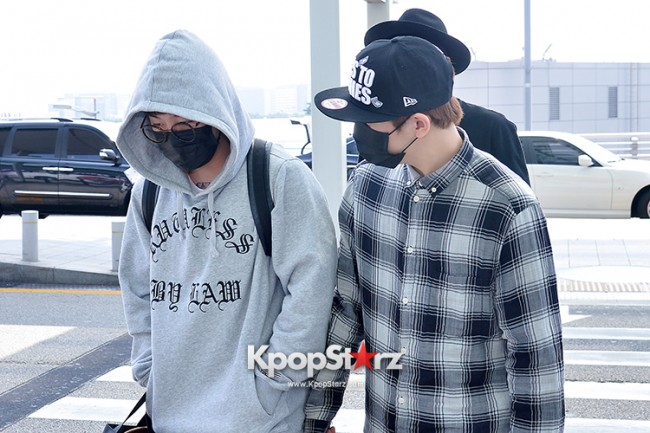 BlockB at Incheon Airport heading to Russia for Fanmeeting Showcase key=>26 count29