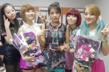 Wonder Girls Photo in Celebration of Their 1st Place Win on 'Music Bank'