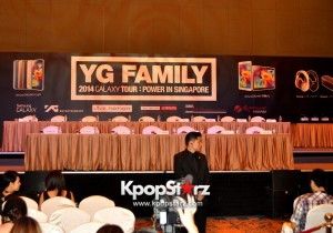YG Family 2014 GALAXY Tour: POWER In Singapore Press Conference [PHOTOS]