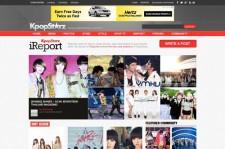 KpopStarz Launches New Design of iReport