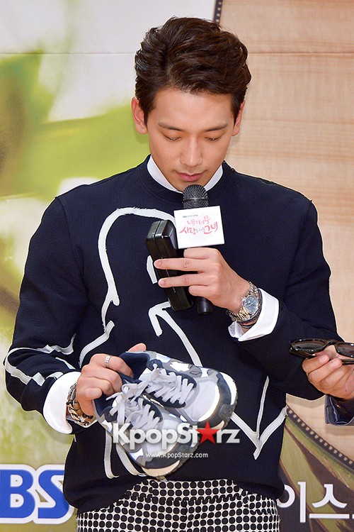 Rain Attends the Press Conference for SBS's New Drama 'My Lovely Girl' key=>7 count14