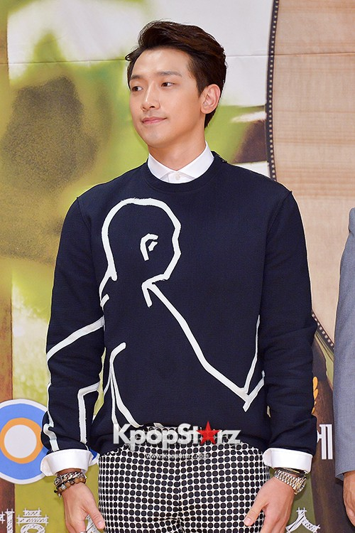 Rain Attends the Press Conference for SBS's New Drama 'My Lovely Girl' key=>12 count14