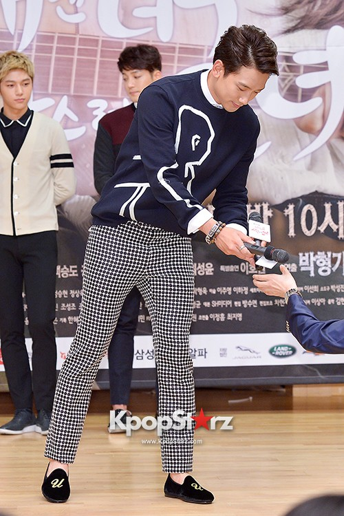 Rain Attends the Press Conference for SBS's New Drama 'My Lovely Girl' key=>13 count14