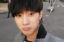 b1a4 jinyoung puppy man