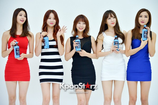 EXID Attends the Photoshoot for Vitamin C Drink 'Prinkles' key=>1 count24