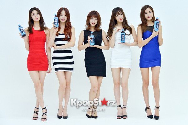 EXID Attends the Photoshoot for Vitamin C Drink 'Prinkles' key=>3 count24