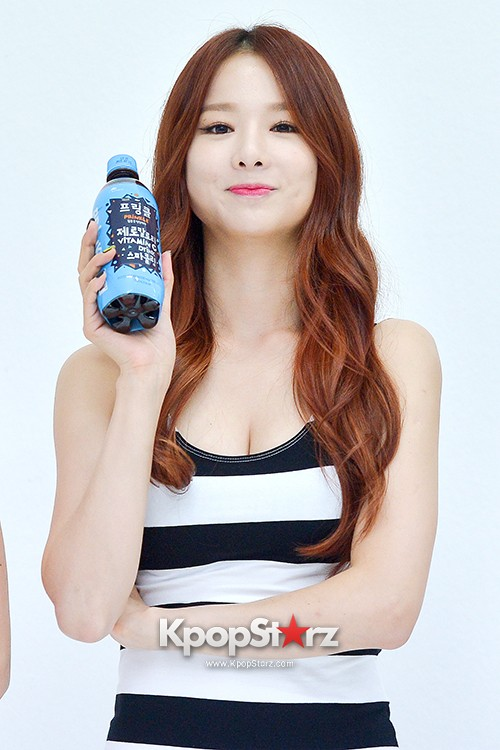 EXID Attends the Photoshoot for Vitamin C Drink 'Prinkles' key=>4 count24