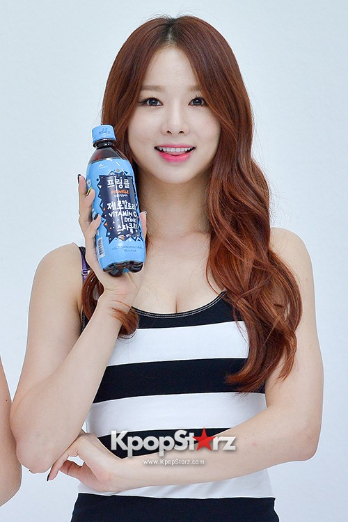 EXID Attends the Photoshoot for Vitamin C Drink 'Prinkles' key=>5 count24