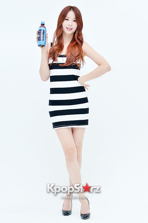 EXID Attends the Photoshoot for Vitamin C Drink 'Prinkles' key=>9 count24