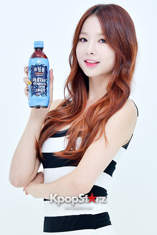 EXID Attends the Photoshoot for Vitamin C Drink 'Prinkles' key=>0 count24
