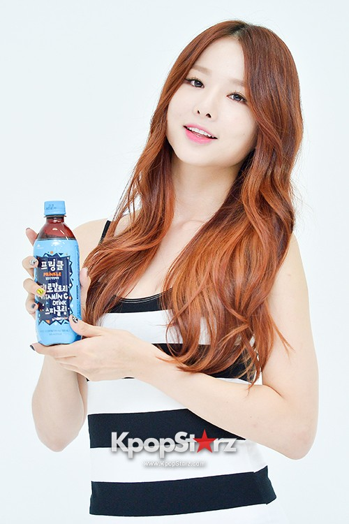 EXID Attends the Photoshoot for Vitamin C Drink 'Prinkles' key=>13 count24