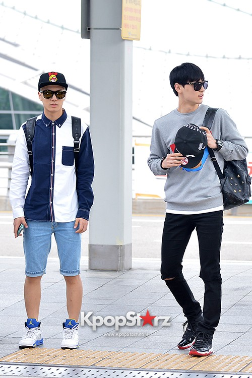 NU'EST at ICN Airport Heading to Mexico key=>3 count16