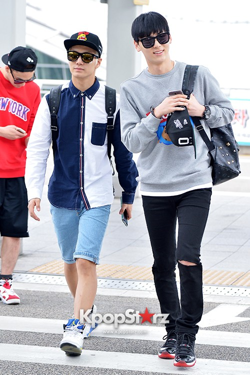NU'EST at ICN Airport Heading to Mexico key=>6 count16