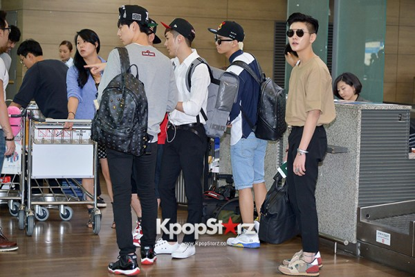 NU'EST at ICN Airport Heading to Mexico key=>12 count16