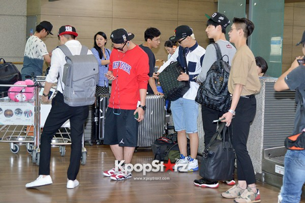 NU'EST at ICN Airport Heading to Mexico key=>14 count16