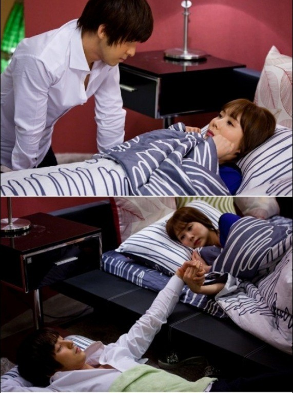 'I Love Italy' Super Junior Kim Kibum & Park Ye Jin's Adorable Bed Scene!key=>0 count1