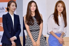 Park Ha Seon, A Pink's Son Na Eun and 4Minute's Heo Ga Yoon Attend an Ambassador Appointment Ceremony at Dongguk University