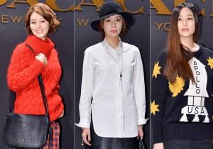 Kim Sung Ryung, Kim Ah Joong and Kim Hyo Jin at Coach 'Stuart Vevers' Collection Launching Event