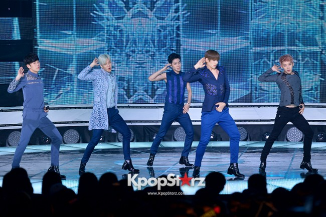 F.CUZ [CHA-GA-WA] at SBS MTV 'THE SHOW All About K-pop' - Sep 23, 2014 [PHOTOS]key=>3 count8