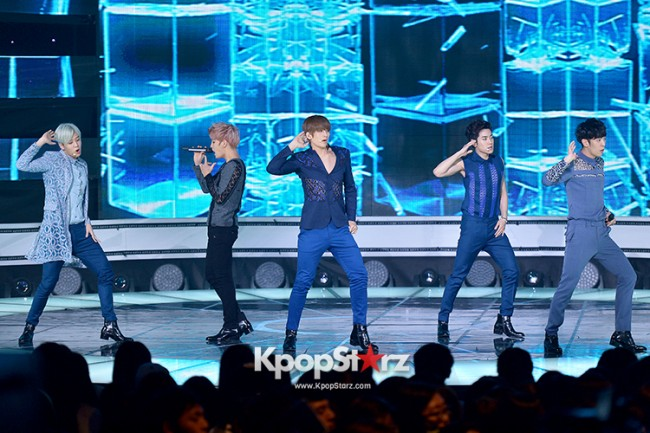 F.CUZ [CHA-GA-WA] at SBS MTV 'THE SHOW All About K-pop' - Sep 23, 2014 [PHOTOS]key=>7 count8