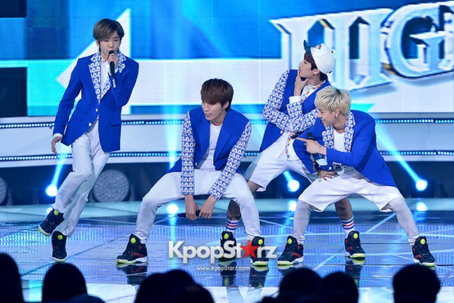 HIGH4 [Headache] at SBS MTV 'THE SHOW All About K-pop'key=>1 count7