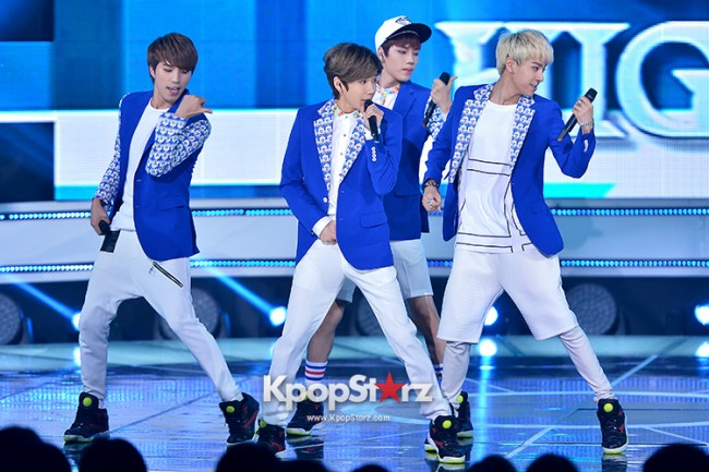HIGH4 [Headache] at SBS MTV 'THE SHOW All About K-pop'key=>3 count7