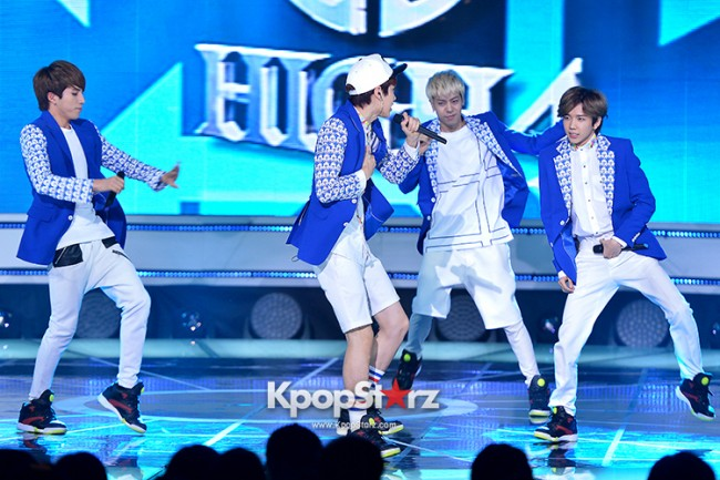 HIGH4 [Headache] at SBS MTV 'THE SHOW All About K-pop'key=>5 count7
