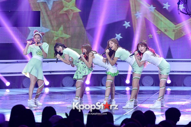 LABOUM [Pit-A-Pat] at SBS MTV 'THE SHOW All About K-pop'key=>7 count9
