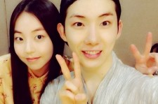 jo kwon picture with sohee