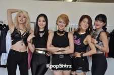 The ladies of SPICA deliver powerful vocals to match their fashion-forward personalities.
