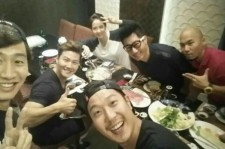 running man dinner in thailand