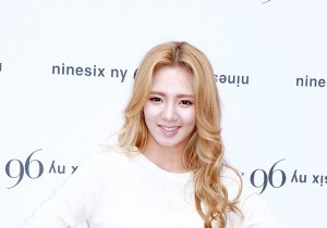 Girls' Generation (SNSD) Hyoyeon Flaunts Her Beauty at 96ny 12' F/W New Collection with Chris Han
