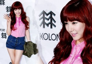 Tiffany (SNSD) Attends Kolon Sports 2012 F/W Fashion Show [10 PHOTOS]