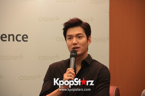 Lee Min Ho Attends Fan Meet & Greet Session with OSIM uDiva in Malaysia - Sept 28, 2014 [PHOTOS]key=>9 count25