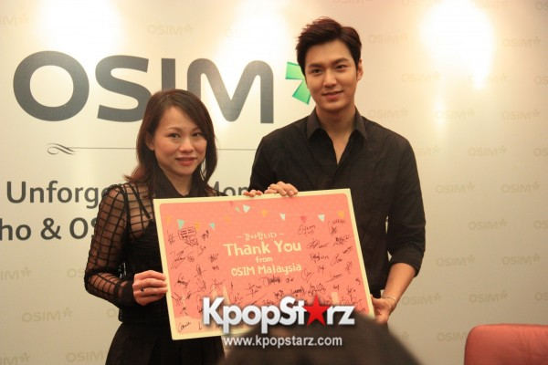 Lee Min Ho Attends Fan Meet & Greet Session with OSIM uDiva in Malaysia - Sept 28, 2014 [PHOTOS]key=>12 count25