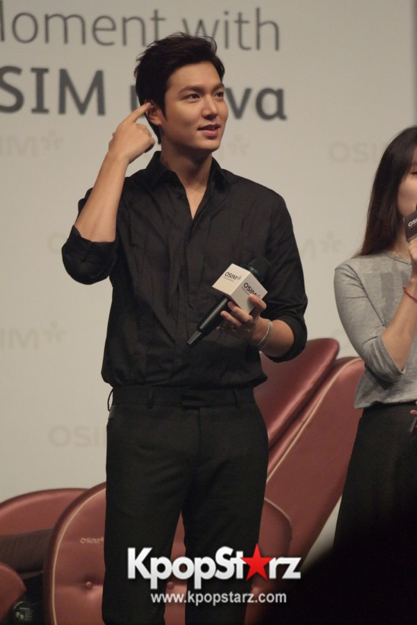 Lee Min Ho Attends Fan Meet & Greet Session with OSIM uDiva in Malaysia - Sept 28, 2014 [PHOTOS]key=>14 count25