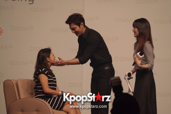 Lee Min Ho Attends Fan Meet & Greet Session with OSIM uDiva in Malaysia - Sept 28, 2014 [PHOTOS]key=>16 count25