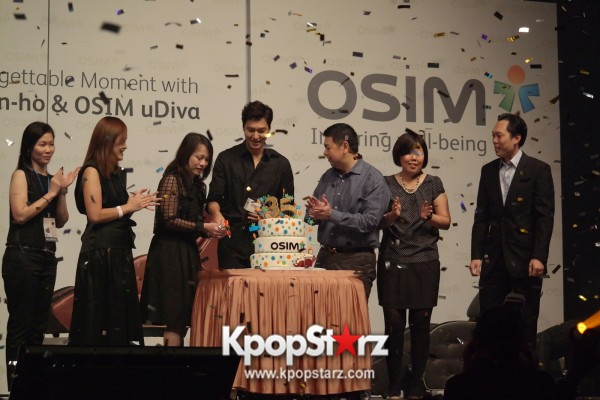 Lee Min Ho Attends Fan Meet & Greet Session with OSIM uDiva in Malaysia - Sept 28, 2014 [PHOTOS]key=>22 count25
