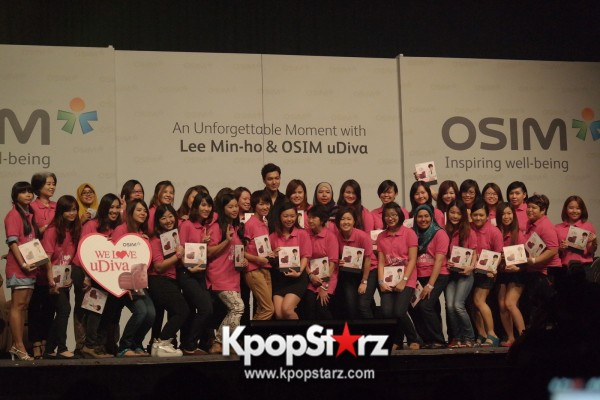 Lee Min Ho Attends Fan Meet & Greet Session with OSIM uDiva in Malaysia - Sept 28, 2014 [PHOTOS]key=>23 count25