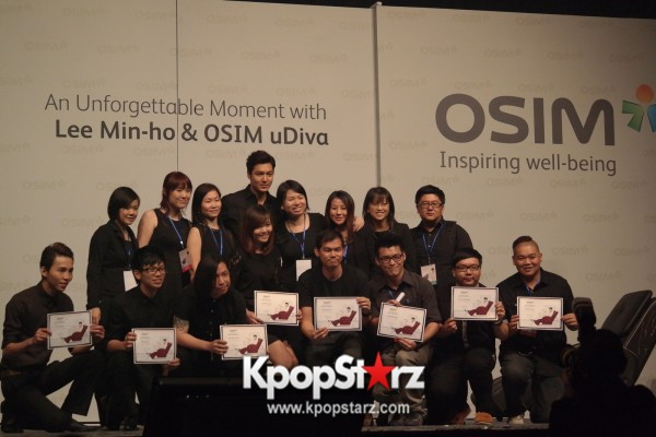 Lee Min Ho Attends Fan Meet & Greet Session with OSIM uDiva in Malaysia - Sept 28, 2014 [PHOTOS]key=>24 count25