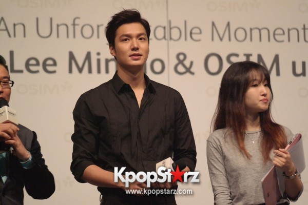Lee Min Ho Attends Fan Meet & Greet Session with OSIM uDiva in Malaysia - Sept 28, 2014 [PHOTOS]key=>21 count25