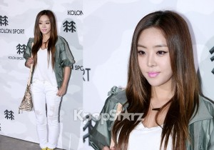 Narsha (Brown Eyed Girls) Attends Kolon Sports 2012 F/W Fashion Show [9 PHOTOS]