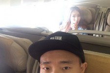 gary selfie on plane with jungin