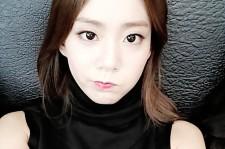 han seungyeon selfie after diet