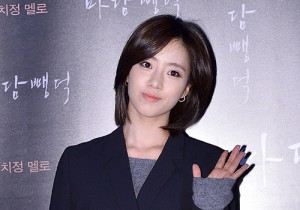 Tara's Eunjung Attends a VIP Premiere of Upcoming Film 'Scarlet Innocence'