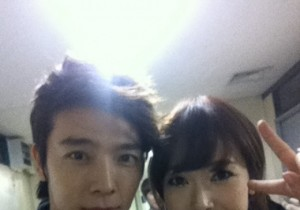 Dong Hae and Jessica